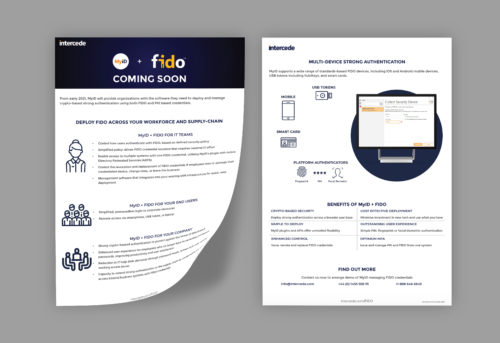 MyID + FIDO solution overview