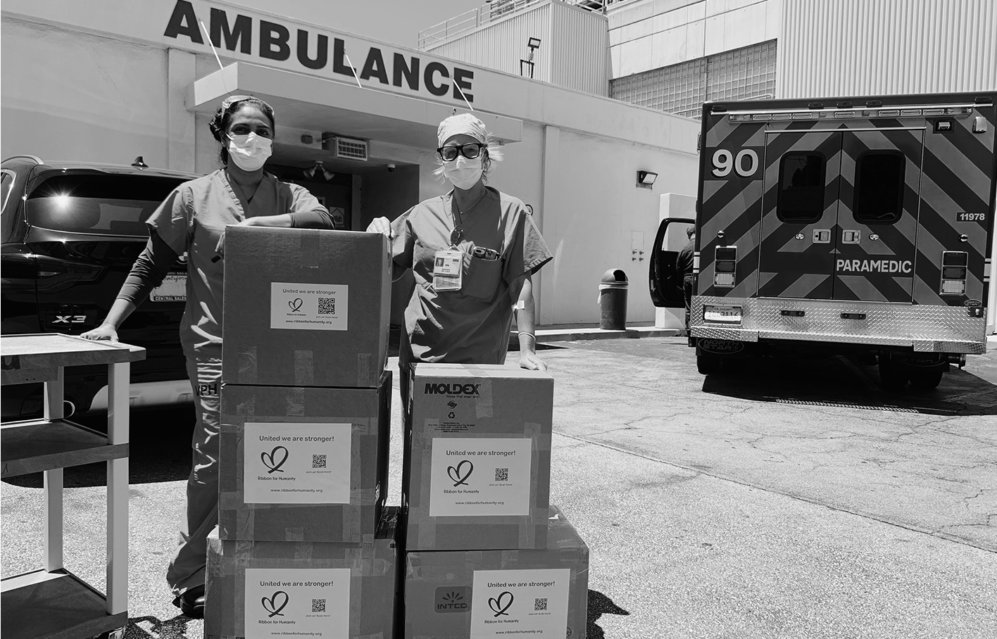 Clinical Staff receiving a delivery - Healthcare Supply Chain